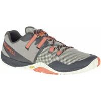 Topánky Muži Bežecká a trailová obuv Merrell Trail Glove 6 Sivá, Oranžová