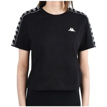 Oblečenie Ženy Tričká s krátkym rukávom Kappa Inula Tshirt Čierna