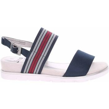 Topánky Ženy Sandále Jana 882820826805 Tmavomodrá