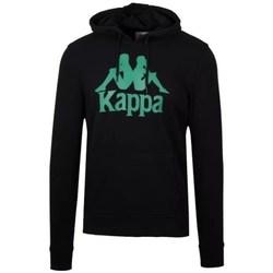 Oblečenie Muži Mikiny Kappa Authentic Zimim Čierna