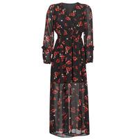 Oblečenie Ženy Dlhé šaty Moony Mood PILAF Čierna / Červená