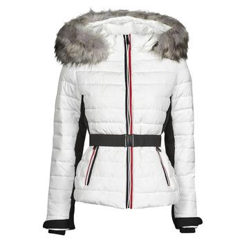 Oblečenie Ženy Vyteplené bundy Moony Mood PILET Biela