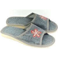 Topánky Ženy Papuče John-C Dámske sivé papuče ROSS sivá