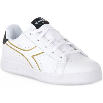 Topánky Dievčatá Nízke tenisky Diadora 2296 GAME P PS GIRL Bianco