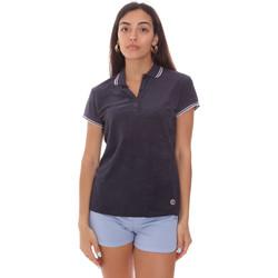 Oblečenie Ženy Polokošele s krátkym rukávom Colmar 8733 2TQ Modrá