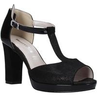 Topánky Ženy Sandále Valleverde 45550 čierna