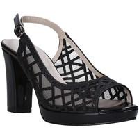 Topánky Ženy Sandále Valleverde 45552 čierna