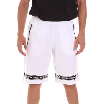 Oblečenie Muži Šortky a bermudy Ea7 Emporio Armani 3KPS56 PJ05Z Biely
