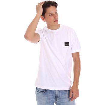 Oblečenie Muži Tričká s krátkym rukávom Calvin Klein Jeans K10K107281 Biely