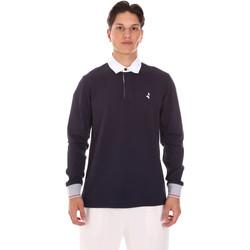 Oblečenie Muži Polokošele s dlhým rukávom Navigare NV32024 Modrá