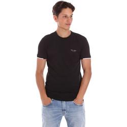 Oblečenie Muži Tričká s krátkym rukávom Key Up 2S420 0001 čierna