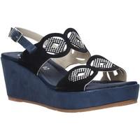 Topánky Ženy Sandále Valleverde 32214 Modrá