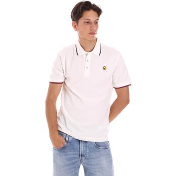 Oblečenie Muži Polokošele s krátkym rukávom Ciesse Piumini 215CPMT21423 C2510X Biely