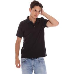 Oblečenie Muži Polokošele s krátkym rukávom Ciesse Piumini 215CPMT21454 C0530X čierna