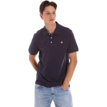 Oblečenie Muži Polokošele s krátkym rukávom Ciesse Piumini 215CPMT21424 C0530X Modrá