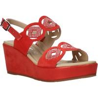 Topánky Ženy Sandále Valleverde 32214 Červená