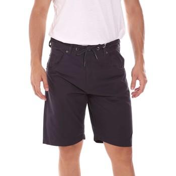 Oblečenie Muži Šortky a bermudy Key Up 2P025 0001 Modrá