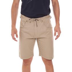 Oblečenie Muži Šortky a bermudy Key Up 2P025 0001 Béžová