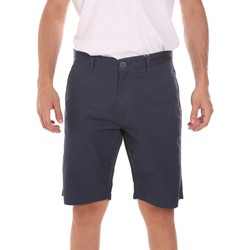 Oblečenie Muži Šortky a bermudy Key Up 2P021 0001 Modrá