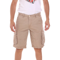 Oblečenie Muži Šortky a bermudy Gaudi 111GU25042 Béžová