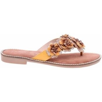 Topánky Ženy Žabky Marco Tozzi 222710826674 Žltá