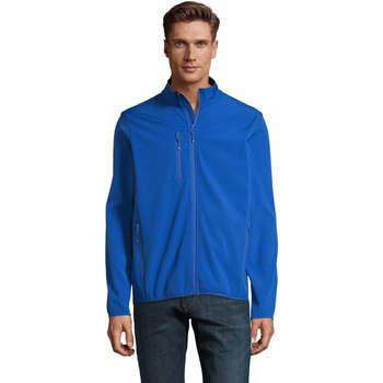 Oblečenie Muži Vetrovky a bundy Windstopper Sols CHAQUETA SOFTSHELL DE HOMBRE CON CREMALLERA Azul