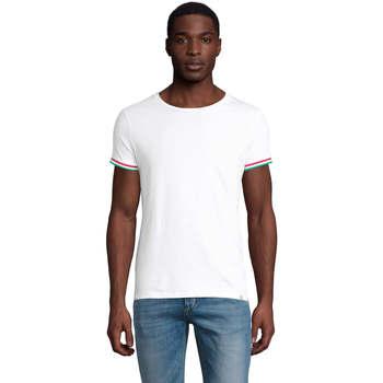 Oblečenie Muži Tričká s krátkym rukávom Sols CAMISETA MANGA CORTA RAINBOW Blanco