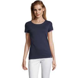 Oblečenie Ženy Tričká s krátkym rukávom Sols CAMISETA MANGA CORTA RAINBOW Azul