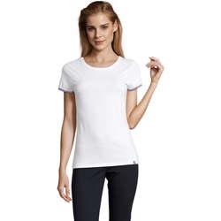 Oblečenie Ženy Tričká s krátkym rukávom Sols CAMISETA MANGA CORTA RAINBOW Blanco
