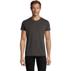 Oblečenie Muži Tričká s krátkym rukávom Sols REGENT FIT CAMISETA MANGA CORTA Gris