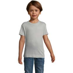 Oblečenie Deti Tričká s krátkym rukávom Sols REGENT FIT CAMISETA MANGA CORTA Gris