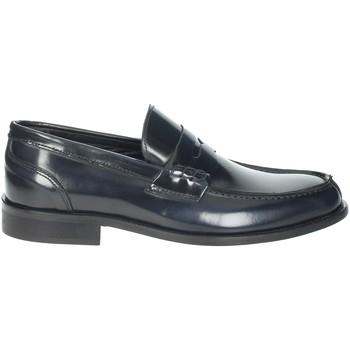 Topánky Muži Mokasíny Hudson 100 Blue