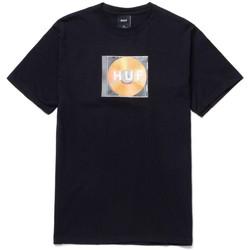 Oblečenie Muži Tričká s krátkym rukávom Huf T-shirt mix box logo ss Čierna