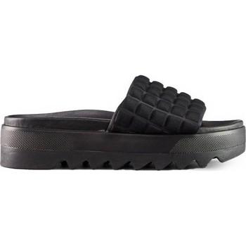Topánky Ženy Šľapky Cougar Perla Embossed Lycra čierna