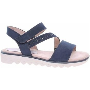 Topánky Ženy Sandále Jana 882866126805 Tmavomodrá