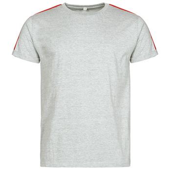 Oblečenie Muži Tričká s krátkym rukávom Yurban  Šedá
