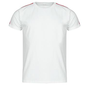 Oblečenie Muži Tričká s krátkym rukávom Yurban  Biela
