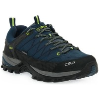 Topánky Muži Turistická obuv Cmp Rigel Low Čierna, Tmavomodrá