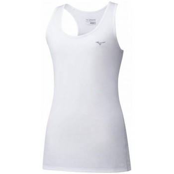 Oblečenie Ženy Tielka a tričká bez rukávov Mizuno Impulse Core Tank Biela