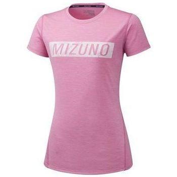 Oblečenie Ženy Tričká s krátkym rukávom Mizuno Impulse Core Tee Ružová
