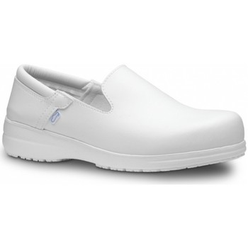 Topánky Muži Slip-on Feliz Caminar Zapato Laboral SENSAI - Biela