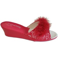 Topánky Ženy Šľapky Milly MILLY102zebrarox rosso