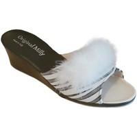 Topánky Ženy Šľapky Milly MILLY102zebra bianco