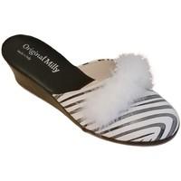 Topánky Ženy Nazuvky Milly MILLY300zebra bianco