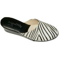Topánky Ženy Nazuvky Milly MILLY5000zebra nero