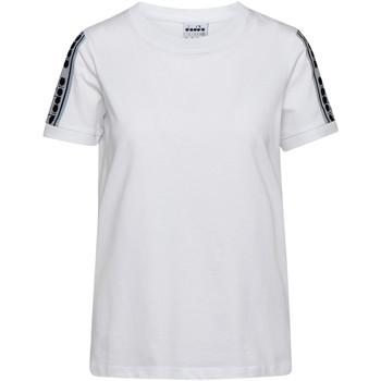 Oblečenie Ženy Tričká s krátkym rukávom Diadora 502175812 Biely