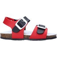 Topánky Deti Sandále Bionatura LUCA Červená