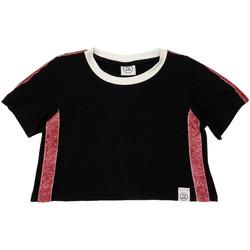 Oblečenie Deti Tričká s krátkym rukávom Naturino 6000719 01 čierna
