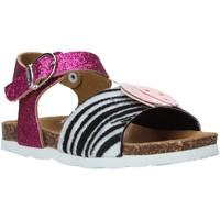 Topánky Dievčatá Sandále Bionatura 22PUPA Ružová