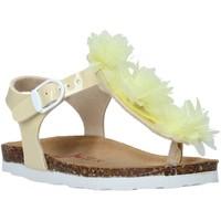 Topánky Dievčatá Sandále Bionatura 22B 1007 žltá